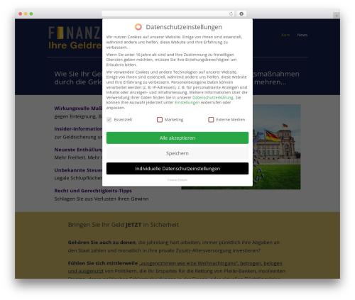 DI Basis – based on Divi 3.0.23 WordPress theme design - geldrettung.com