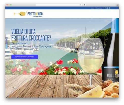 Grand Restaurant best restaurant WordPress theme - frittodivino.com