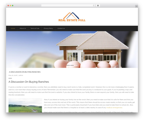 Grow WordPress template free - realestateapulia.com