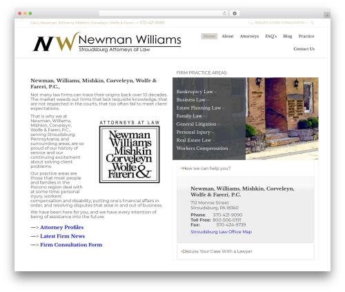 Free WordPress Top 10  – Popular posts plugin for WordPress plugin - newmanwilliams.com