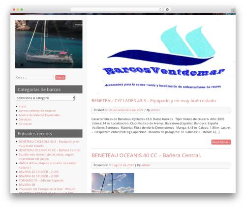 LeftSide free website theme - barcosventdemar.com