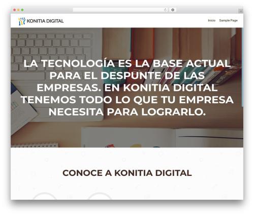 OnePirate free WP theme - konitiadigital.com