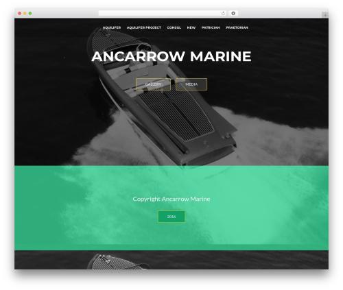 ResponsiveBoat best free WordPress theme - ancarrowmarine.com