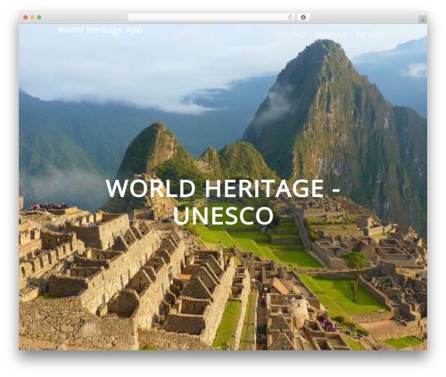 Theme WordPress Elite - appworldheritage.com