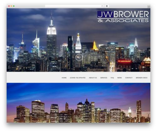 Theme WordPress SKT White - jwbrower.com