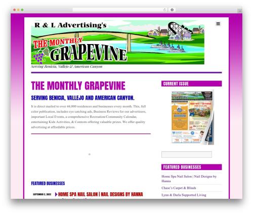 Themify Funki premium WordPress theme - grapevinebenicia.com