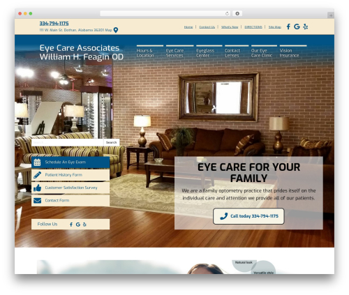 WordPress theme BigBang - eyecaredothan.com