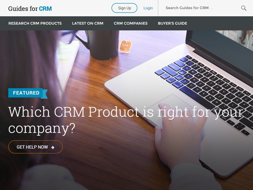 WP template Guides for CRM Wordpress Theme