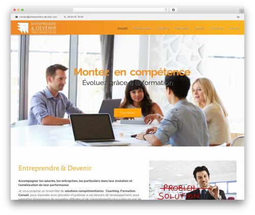 WP theme Sanabel - entreprendre-devenir.com