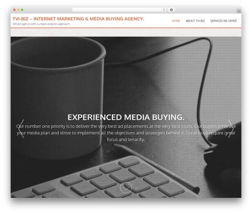 AccessPress Parallax template WordPress - tvi-biz.com