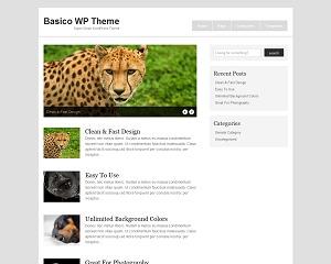 Basico WordPress Theme WordPress theme