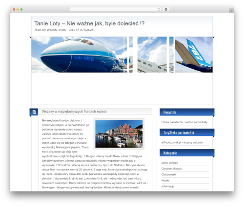 BlogoLife WordPress theme download - tanie--loty.pl
