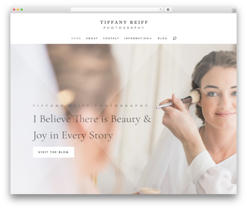 Divi WordPress theme - tiffanyreiffdesigns.com