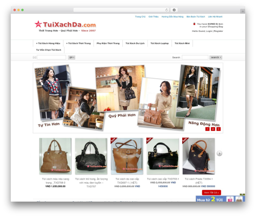 Emporium WordPress theme - tuixachda.com