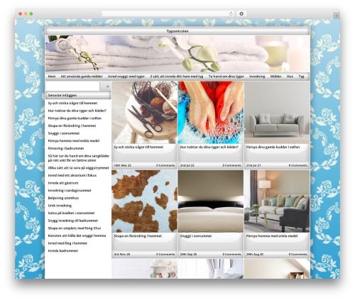 Exact WordPress page template - tygern.se