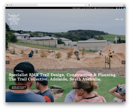 Kalium theme WordPress - thetrailcollective.com.au
