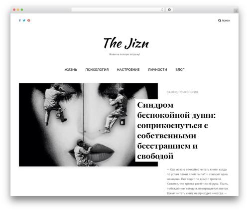 Lifestyle theme free download - thejizn.com