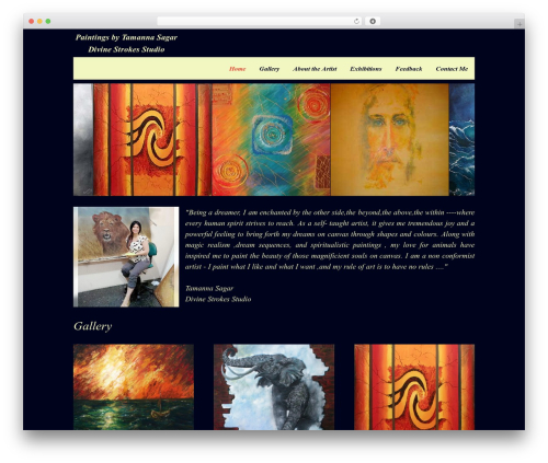 Onesie Pro theme WordPress - tamannasagar.com