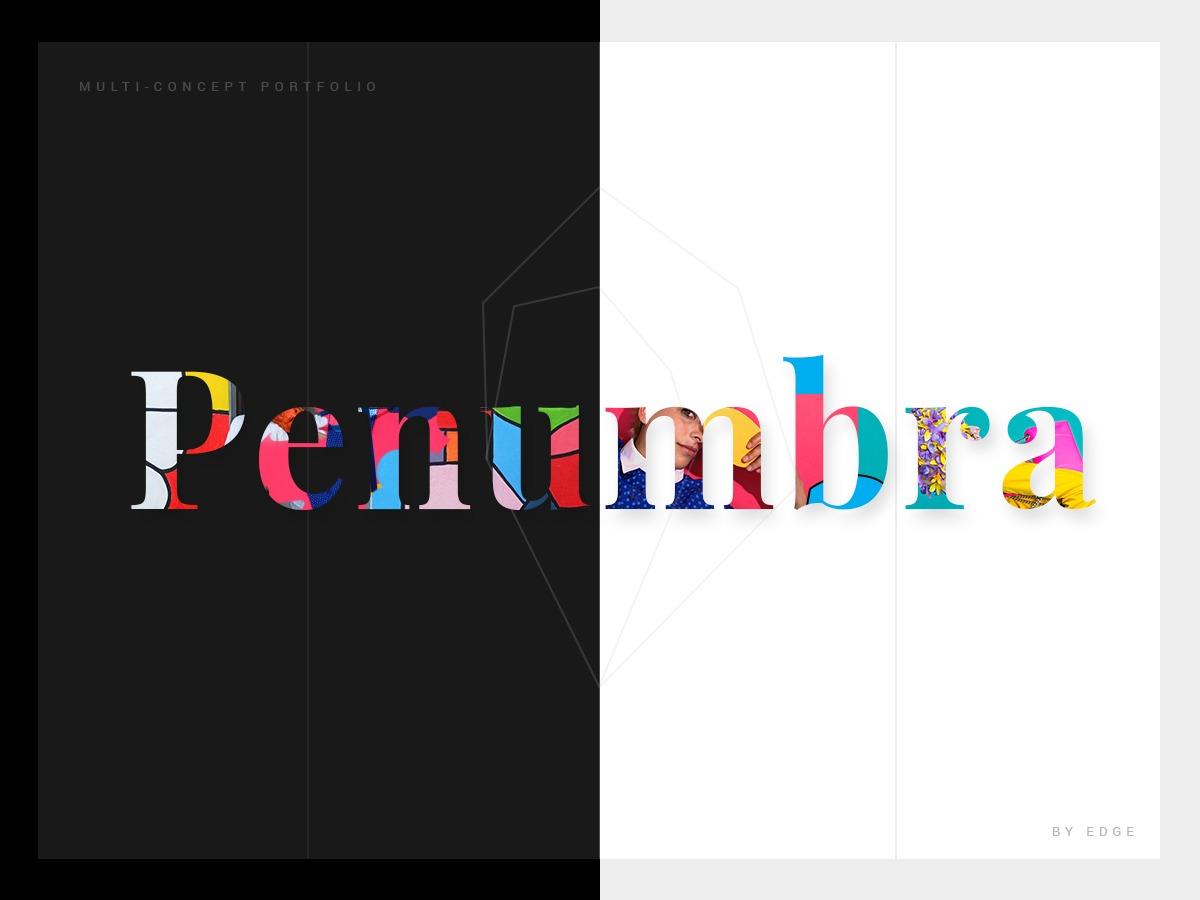 Penumbrawp WordPress portfolio theme