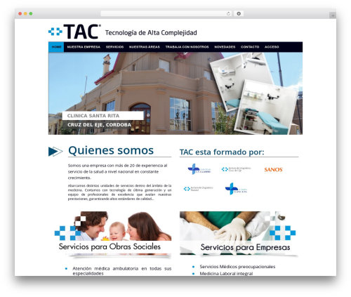 Seller free website theme - tacargentina.com.ar