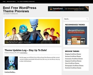 SimpleBlog Wordpress Theme WordPress blog template
