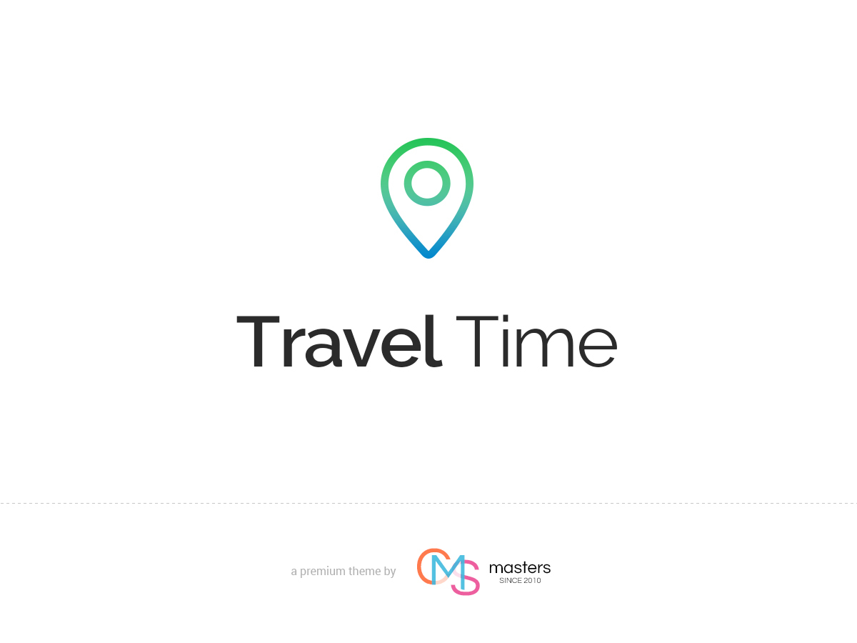 Travel Time WordPress blog template