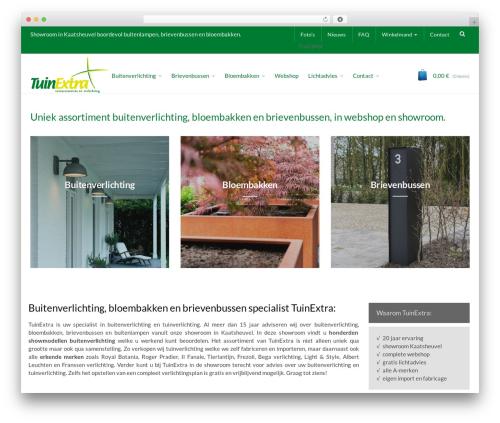 WordPress template Captiva - tuinextra.nl