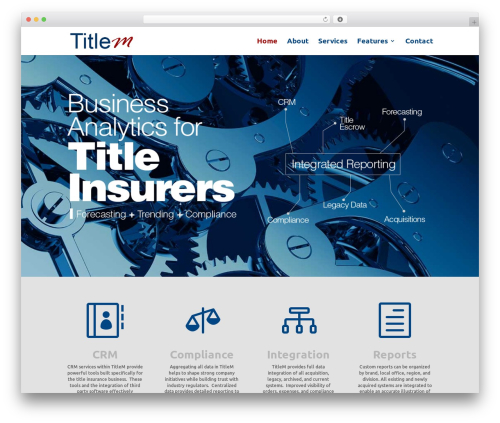 WordPress template Divi - titlem.com