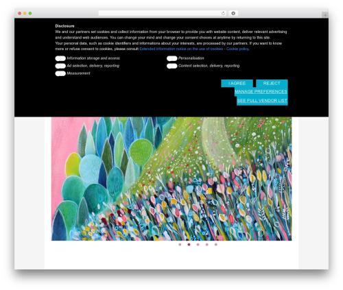 WordPress theme Blossom Theme - tizianarinaldi.it