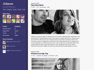 WordPress theme Sidepane