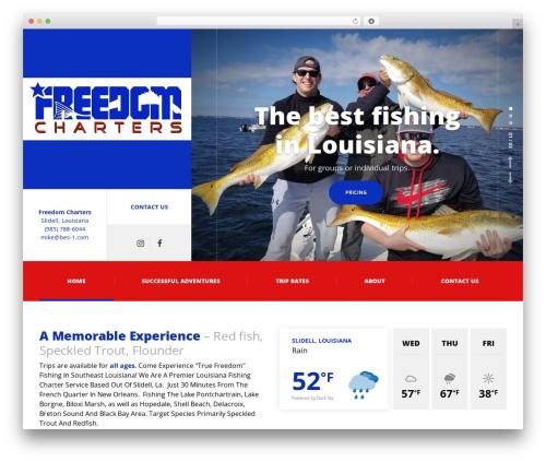 Adrenaline PT WordPress theme - freedomchartersla.com