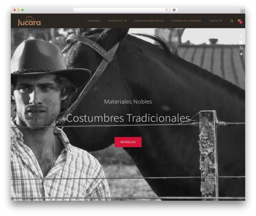 Algibro Shop WordPress theme - sombrerosjucara.com