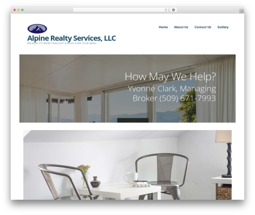 Ascension WordPress page template - alpinerealtyservices.com