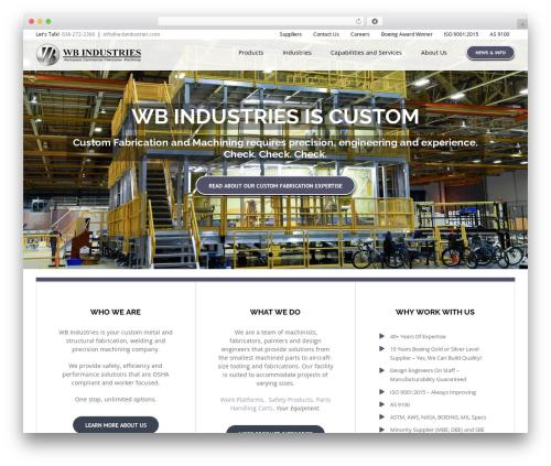 Avada best WordPress template - w-bindustries.com