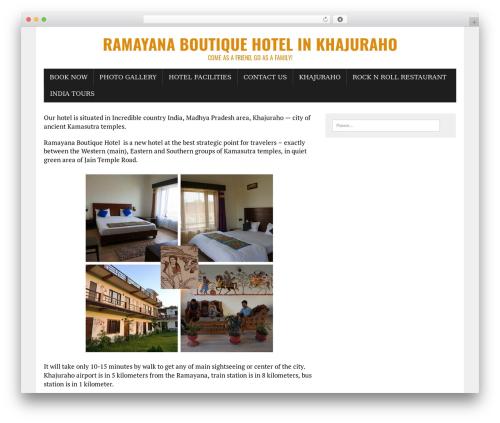 Best WordPress template MH Newsdesk lite - ramayana-khajuraho.com