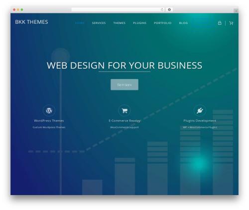 BKK THEMES best WordPress template - bkkthemes.com