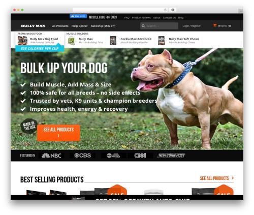WordPress popup-maker-exit-intent-popups plugin - vitaminsforpitbulls.com