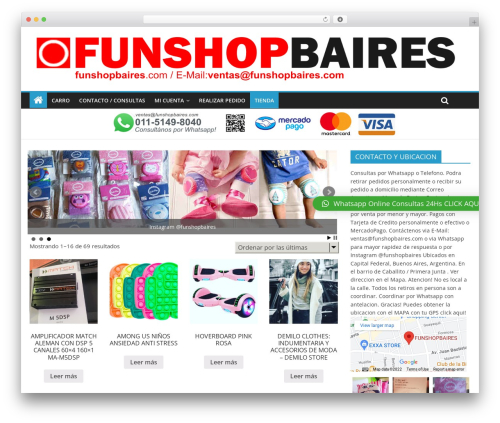 Free WordPress WP Header image slider and carousel plugin - funshopbaires.com