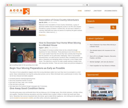 Eaterstop Lite free website theme - acca-centralohio.com
