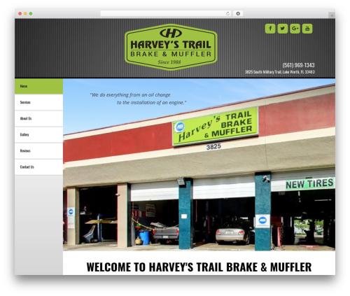 GeneratePress WordPress page template - harveysbrakeauto.com