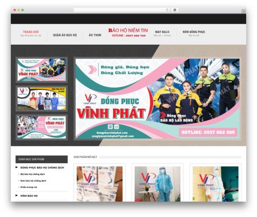 Glamo WordPress template - xuongmaydobaoholaodong.com