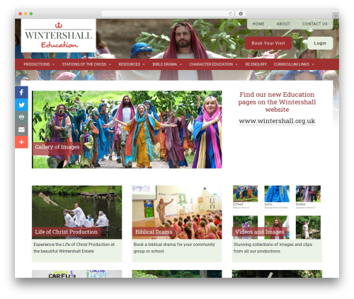 WordPress megamenu-pro plugin - wintershall-education.com