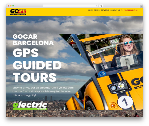 Moesia Pro WordPress theme - gocarbarcelona.com