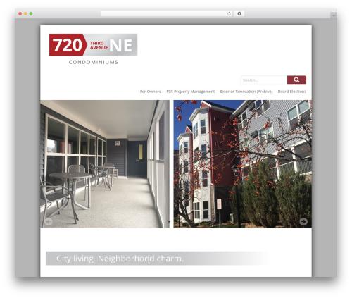 SKT Biz WordPress theme - 720ne.com