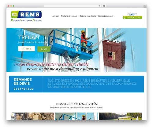 Storesy WordPress shop theme - remsbatteries.com