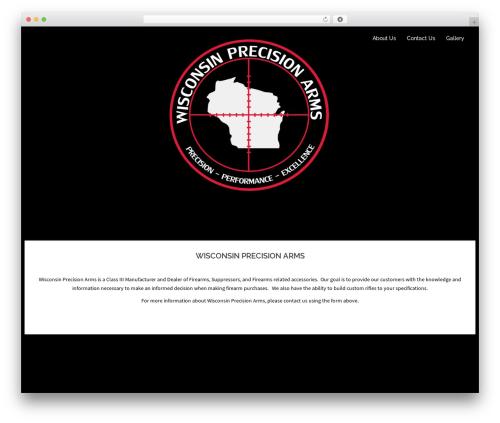 Sydney free WordPress theme - wiprecisionarms.com