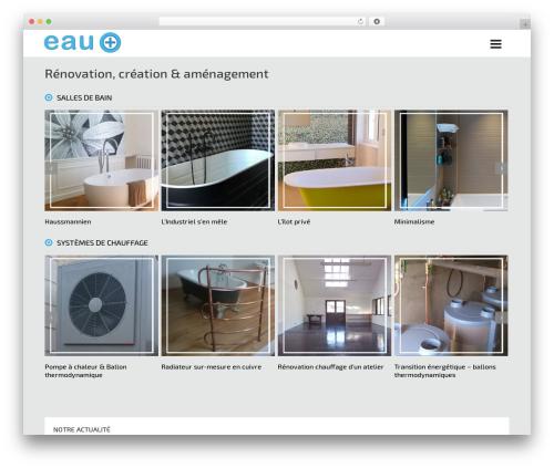 Free WordPress Vertical and Horizontal Tree plugin - eau-plus.com