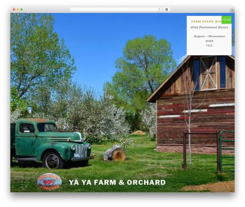 Twenty Seventeen free website theme - yayafarmandorchard.com
