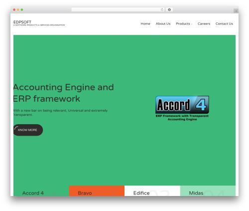WordPress theme Seosight - edpsoft.com