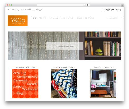 Best WordPress template Regency - yarnoptions.com